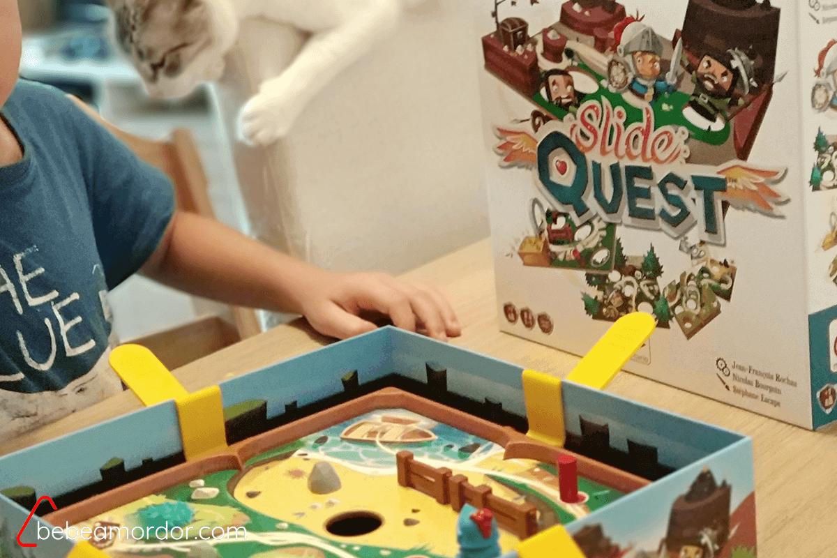 cada persona se encarga de distintas palancas en Slide Quest