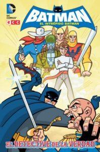 El intrépido Batman cómic para niños 8 9 10 años