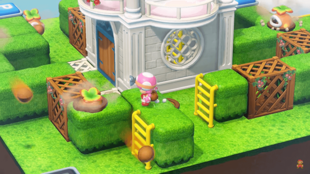 NIVELES TOADETTE CAPTAIN TOAD TREASURE TRACKER SWITCH