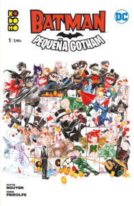 Lil PEqueña Gotham cómic de Batman para niños