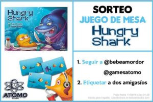 Instrucciones Hungry Shark Sorteo
