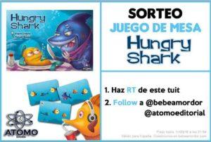 sorteo Twitter Hungry Shark Átomo