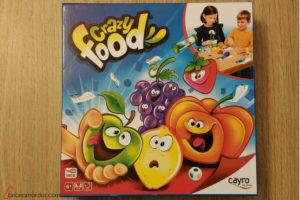 caja portada de Crazy Food