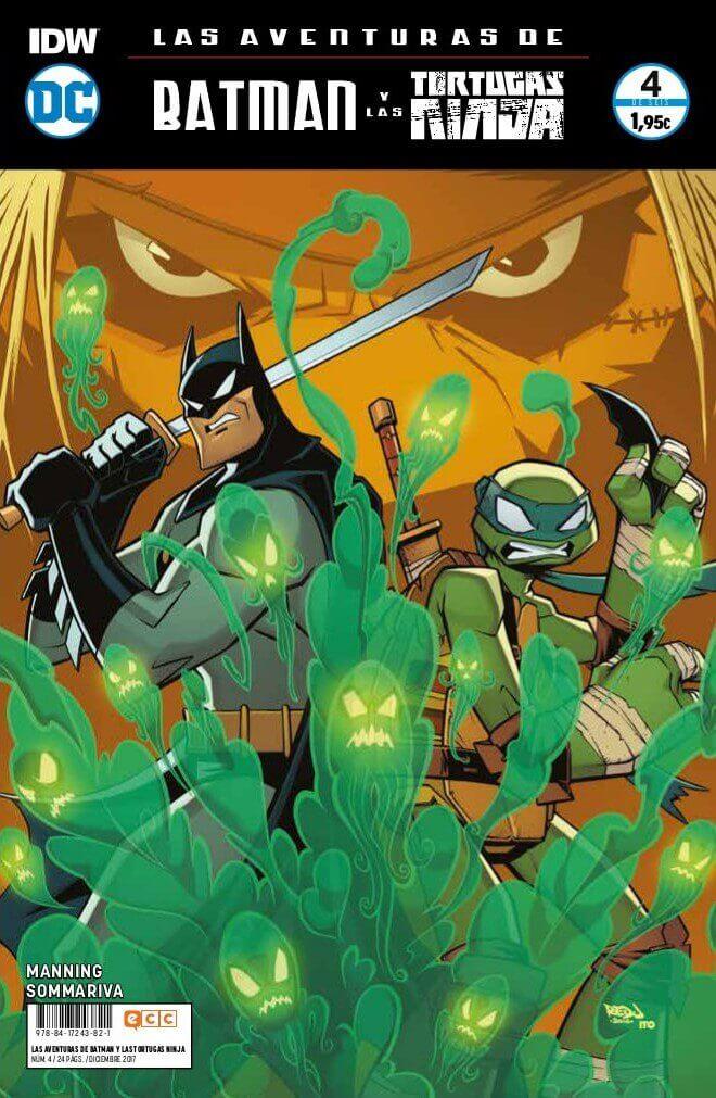 Las aventuras de Batman y las Tortugas Ninja portada