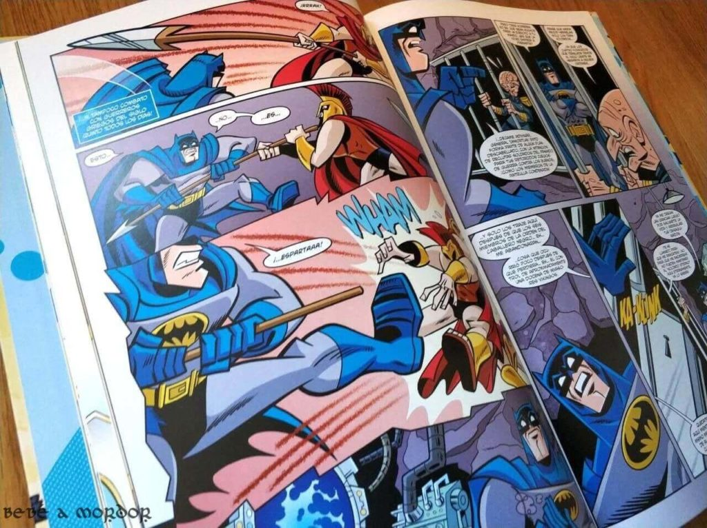 cómics para niños 9 años Batman DC ECC