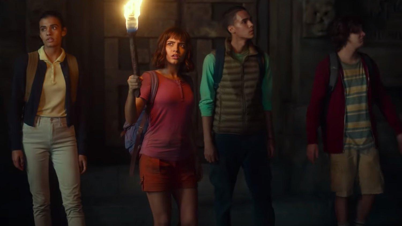 Dora y la Ciudad Perdida - Explorando en equipo