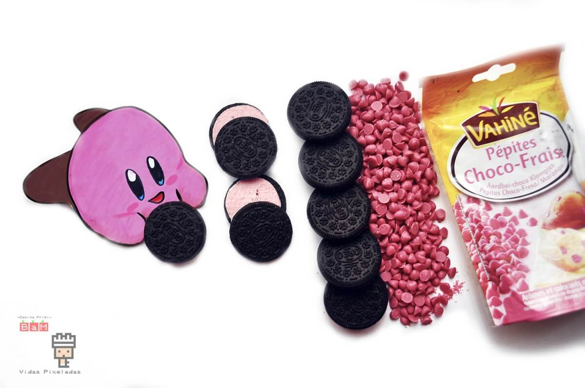Kirby Chocolate de oreo