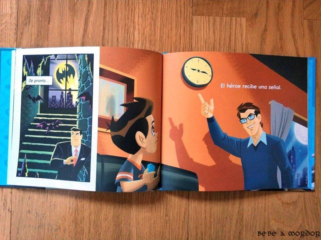la hora de dormir Batman buenas noches cuento infantil
