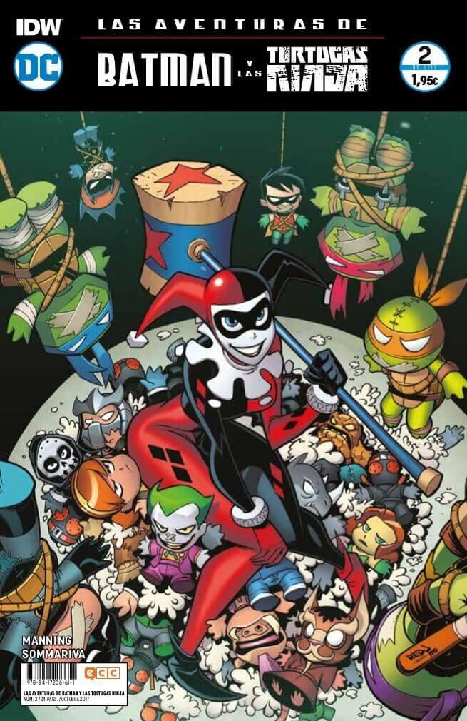 Las aventuras de Batman y las Tortugas Ninja portada 5