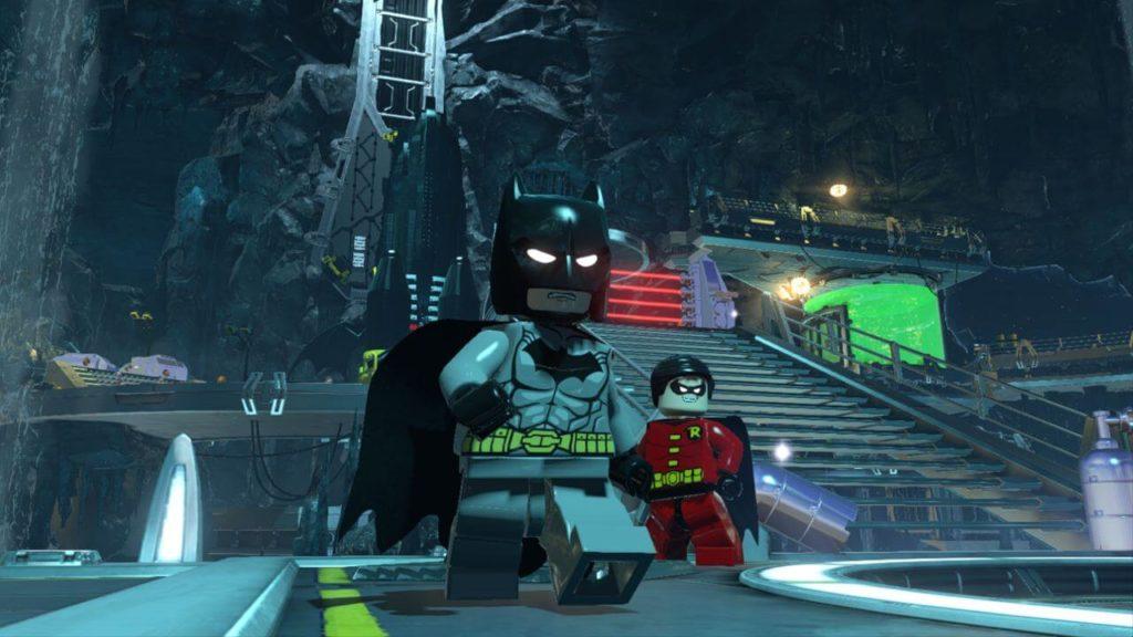 Batman y Robin en saga de videojuegos de Lego Batman para niños y adolescentes