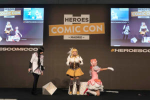 Heroes Comic Con cosplay