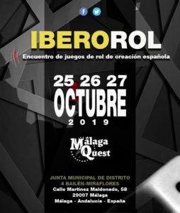 calendario friki de octubre 2019 Ibero Rol