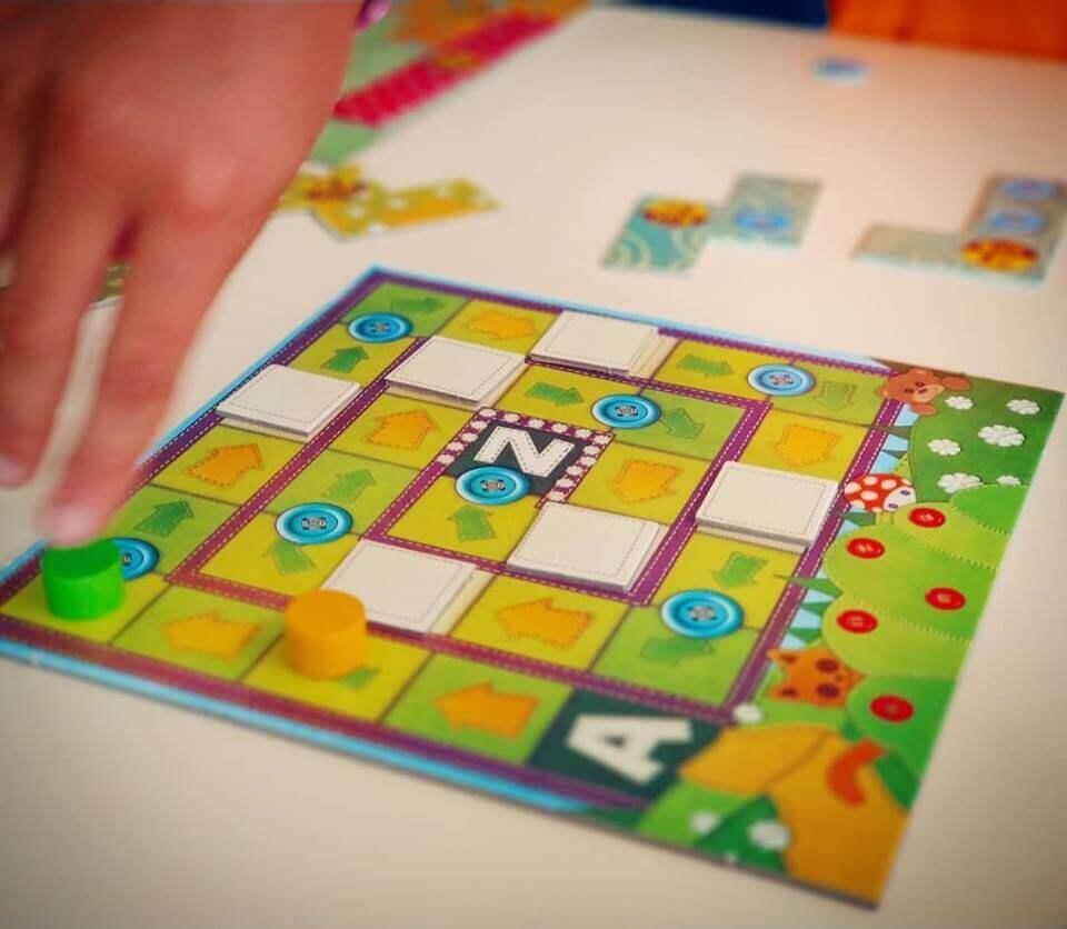 Patchwork Exprés juego para niños y mayores