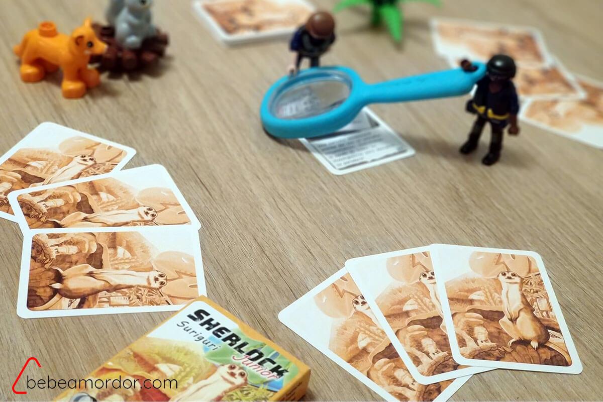 Juego de resolver misterios para niños