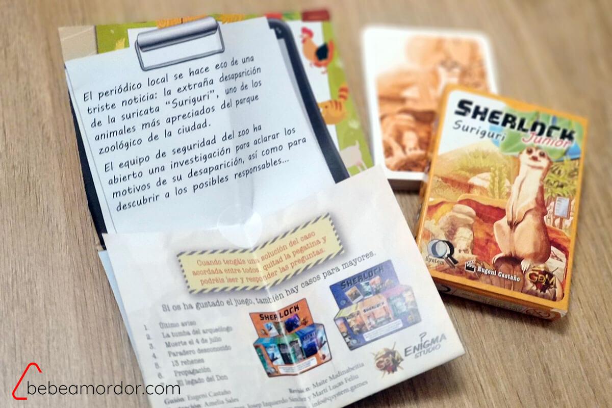 Manual sellado y baraja de cartas