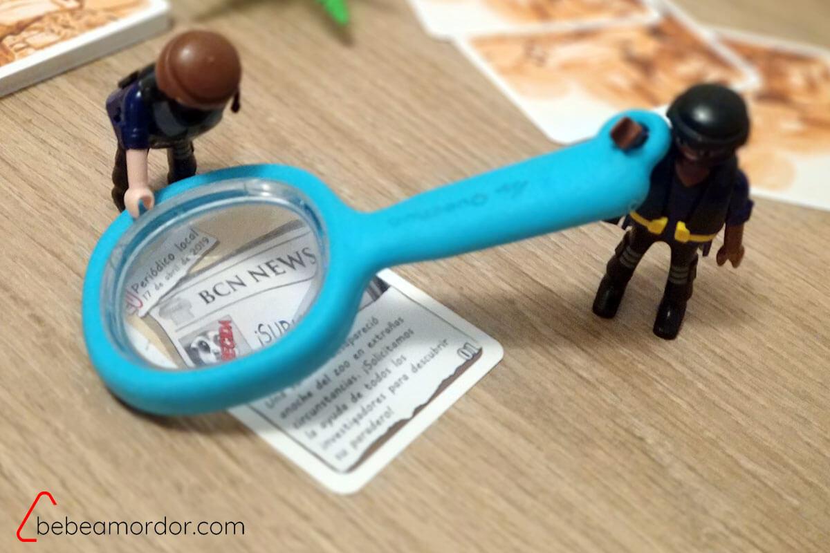 pequeños investigadores de casos