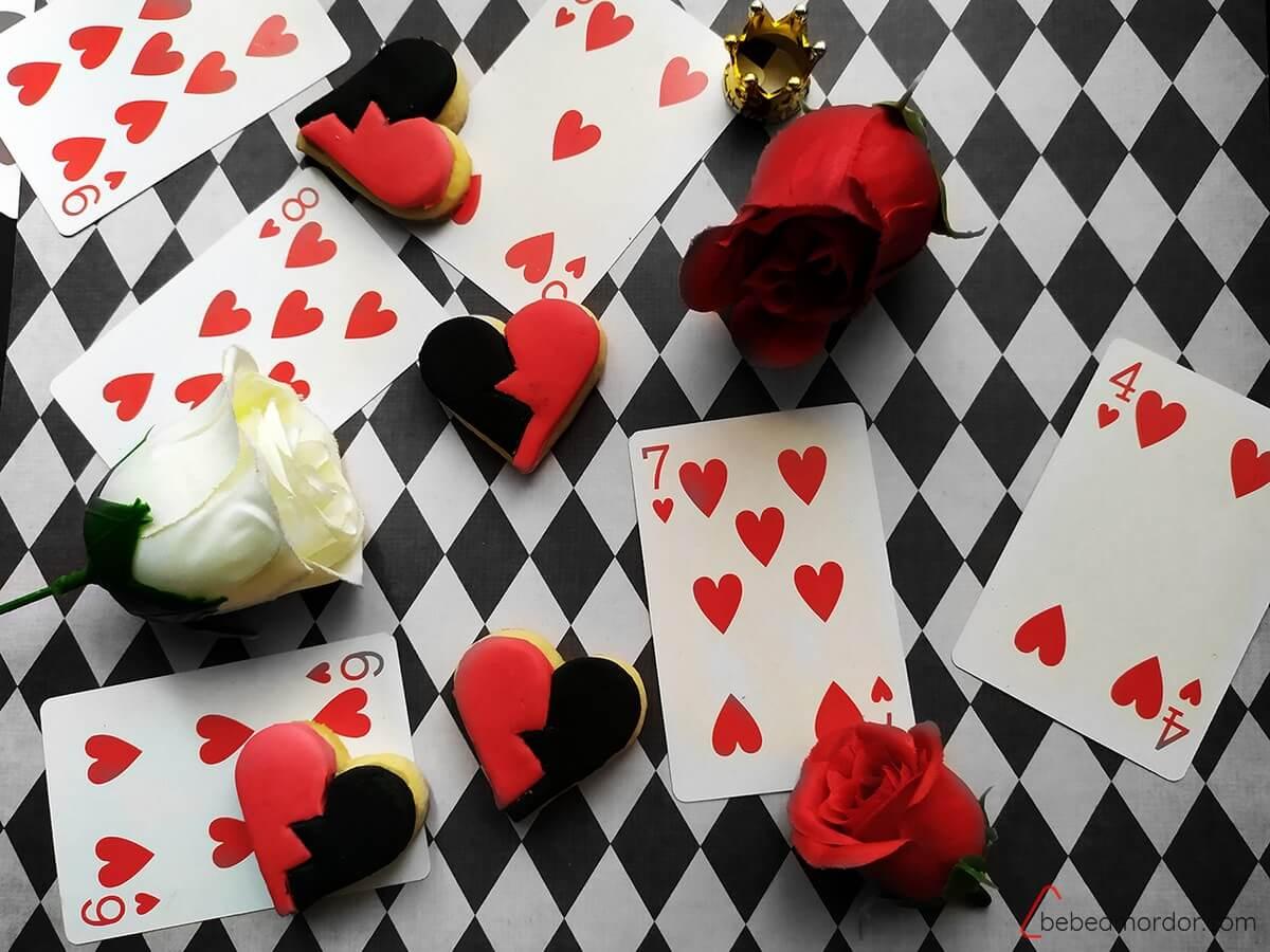 GALLETAS DE La reina de corazones