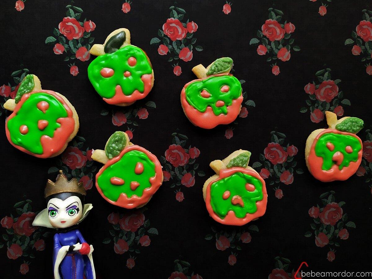 Reina Malvada y galletas envenenadas