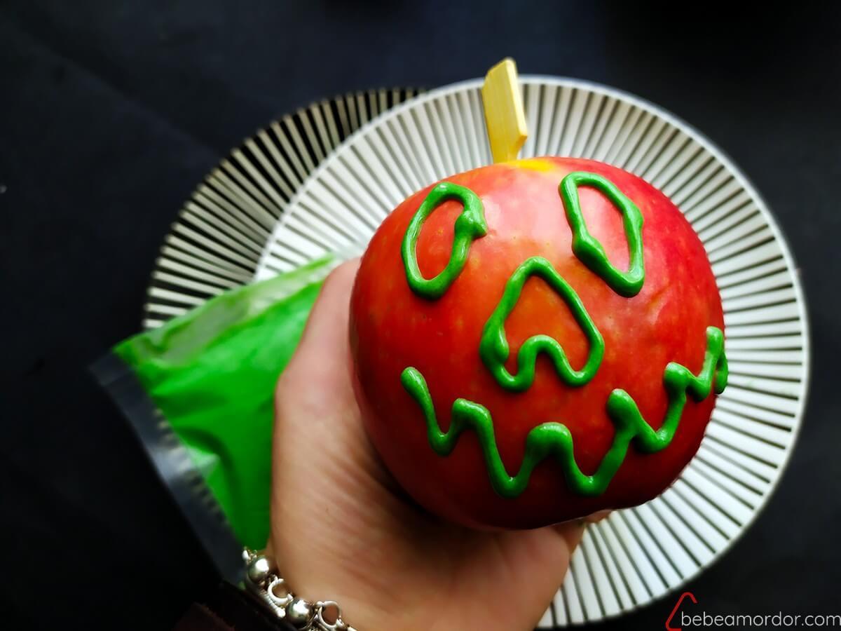 manzana calavera icónica