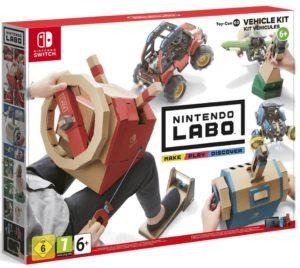 caja Nintendo Labo Kit de Vehículos