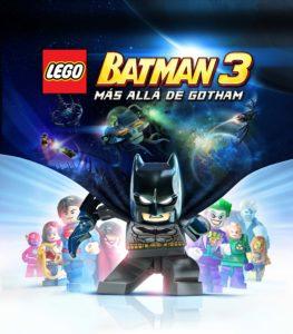 Carátula videojuego Lego Batman 3