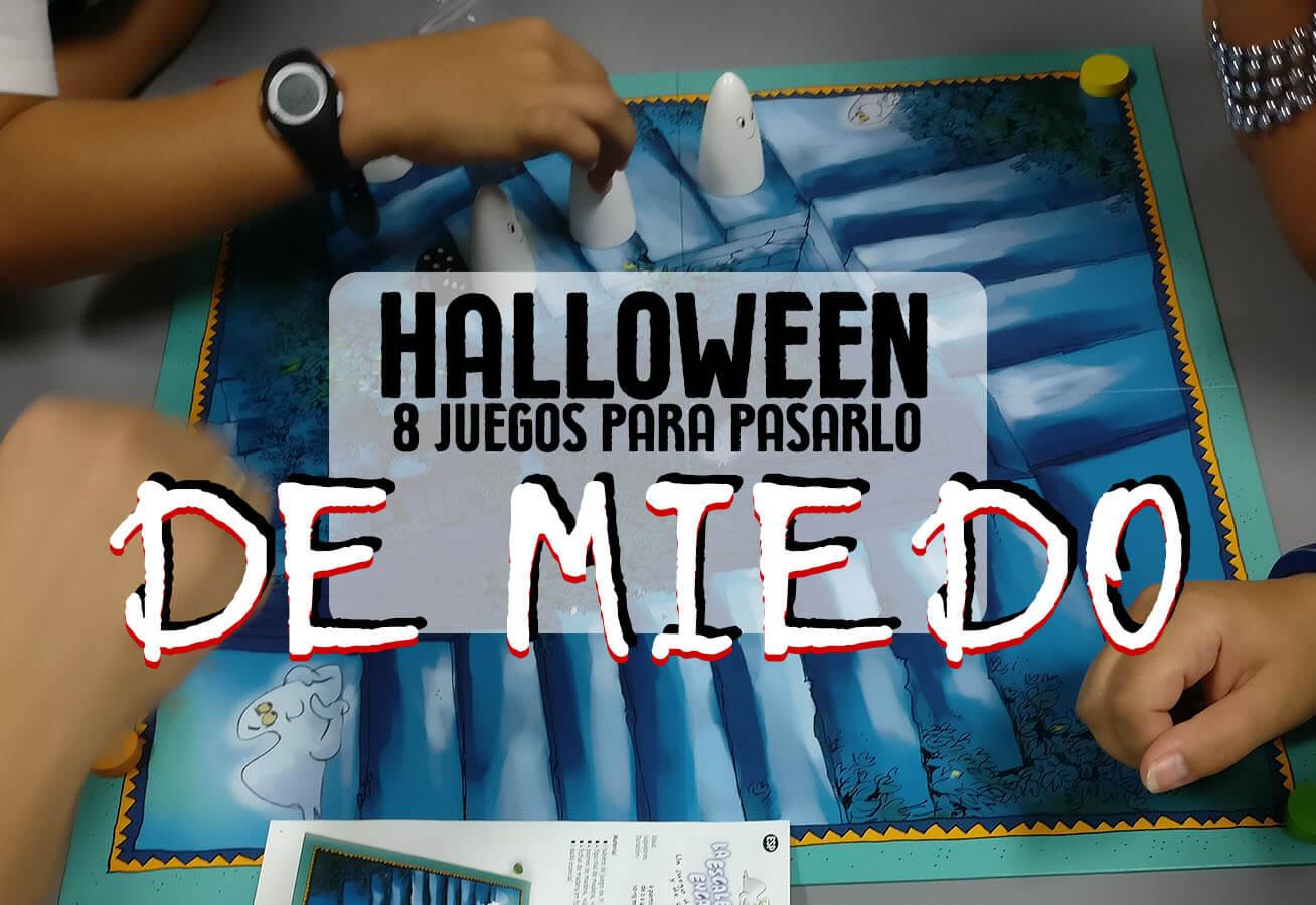 juegos de mesa para Halloween de miedo