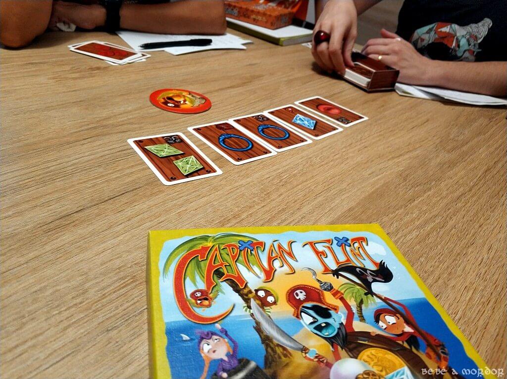 juego de mesa Capitán Flint