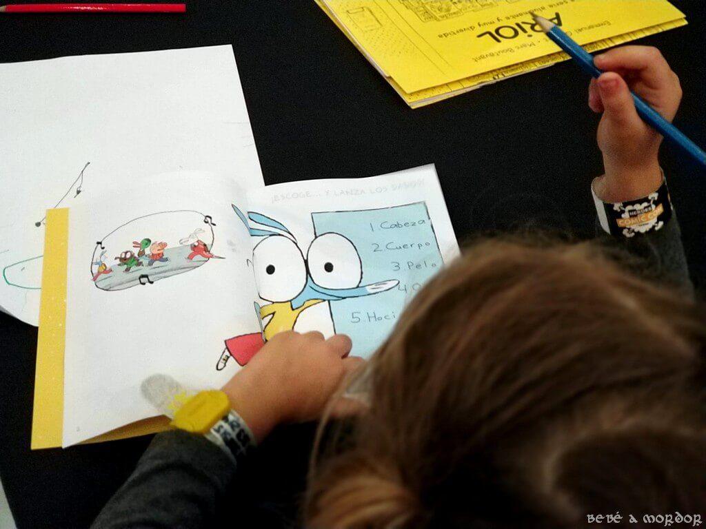 taller de dibujo de comic para niños