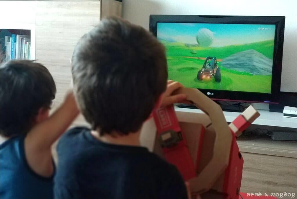 Coche volante Nintendo Labo para niños