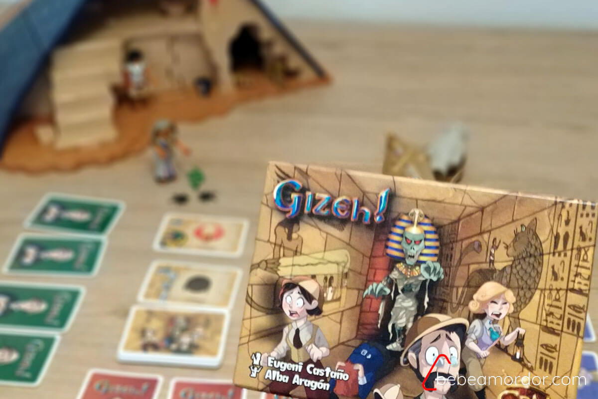juego de mesa Gizeh!