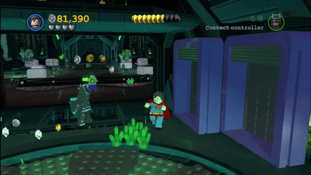 Pantalla videojuego Lego Batman 2 Superman