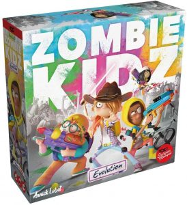 Portada Zombie Kidz Evolution