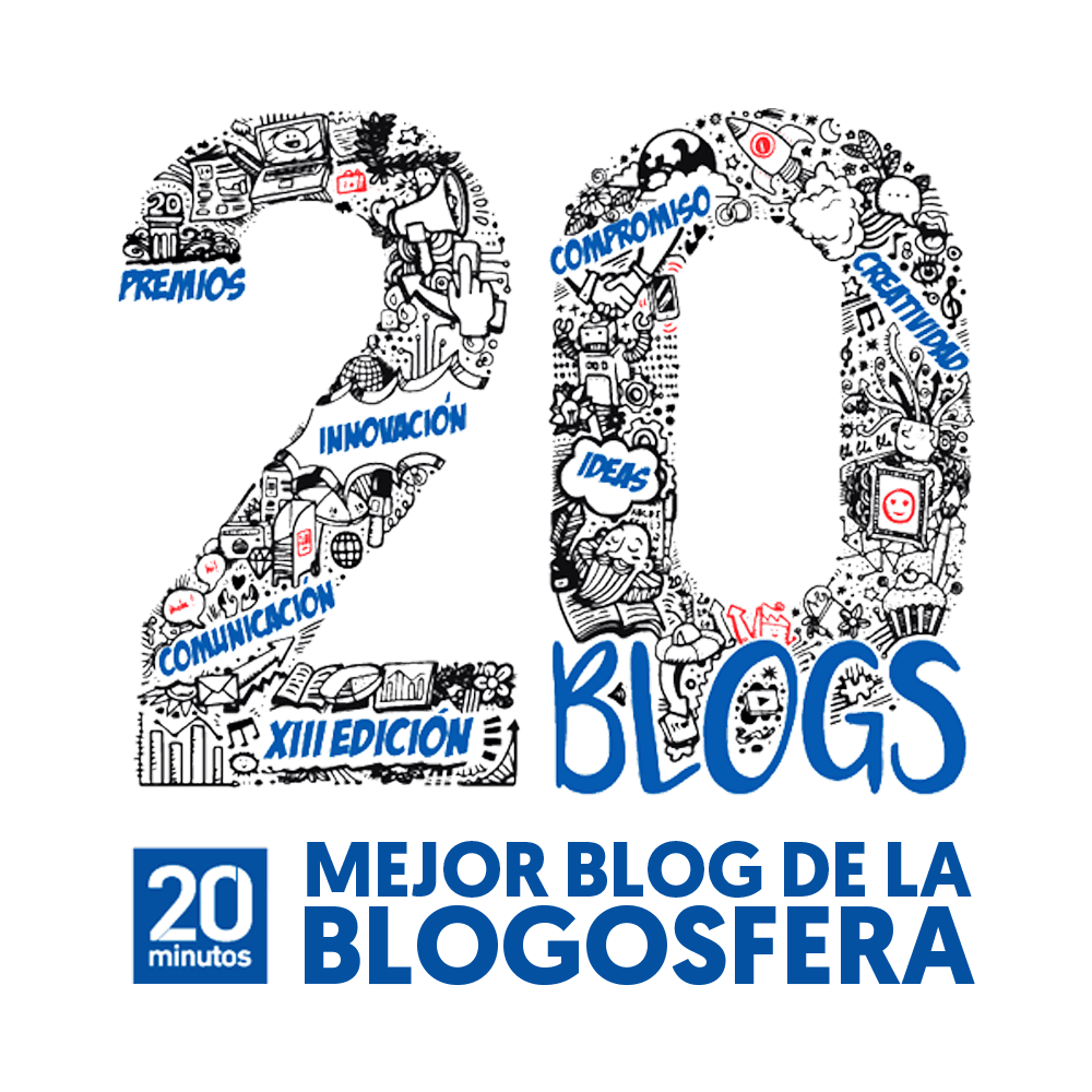 Mejor blog premios 20 minutos