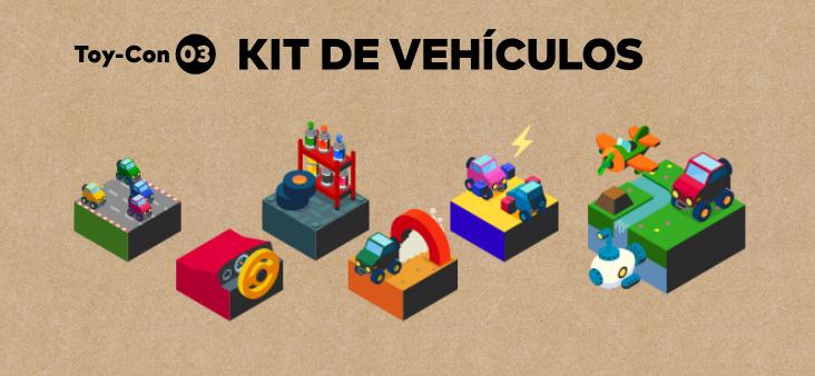 modos de juego Nintendo Kit de Vehículos