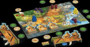 juego de gestión de recursos niños Stone Age Junior