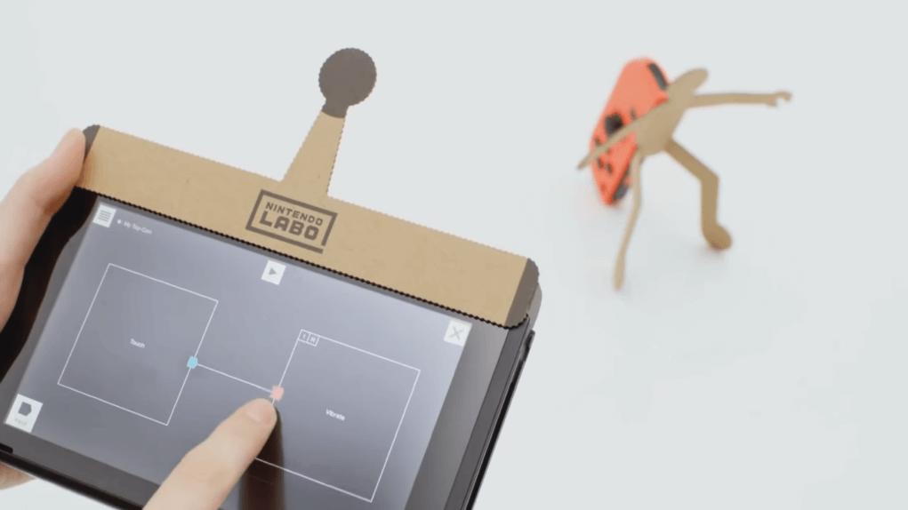 Taller Toy Con Nintendo Labo