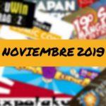 Calendario friki noviembre portada