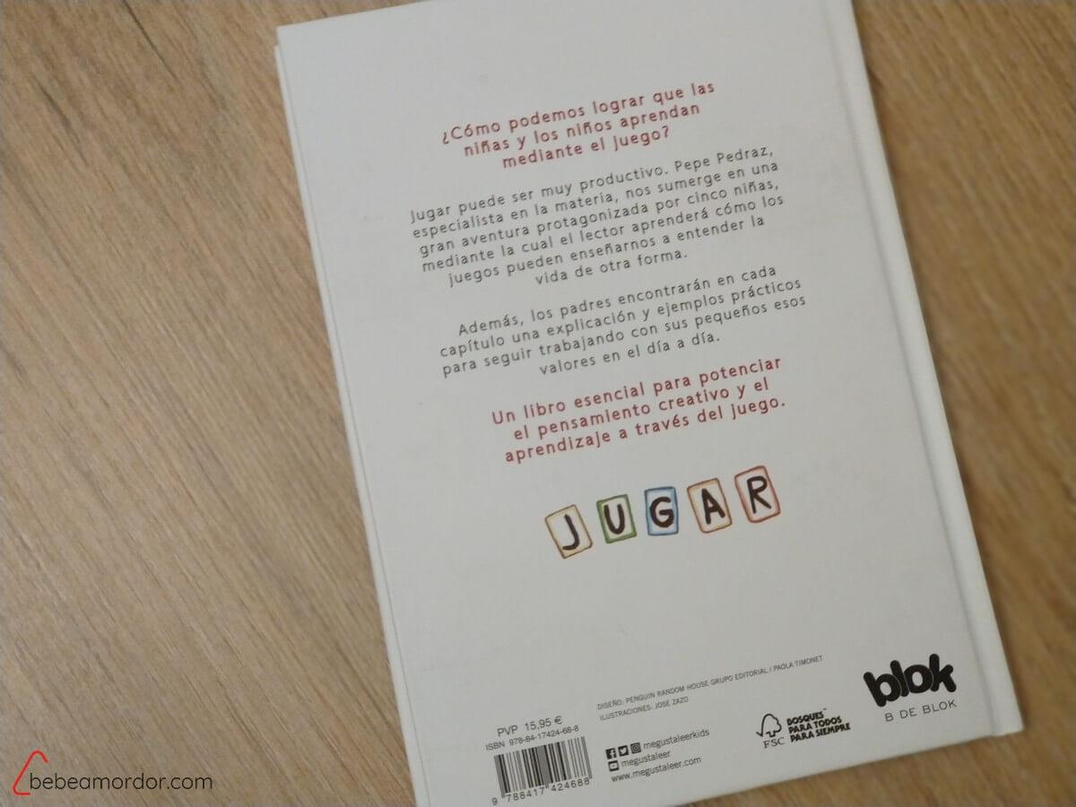 contraportada libro Aprende Jugando de pepe Pedraz