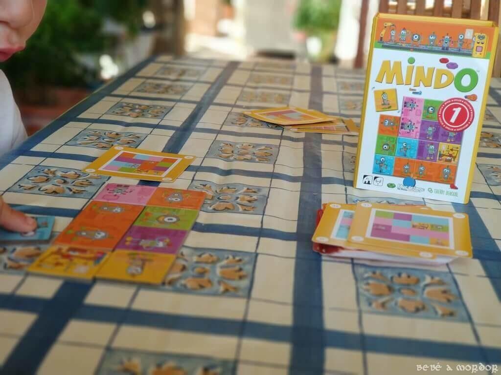 juego Mindo niveles avanzados niños