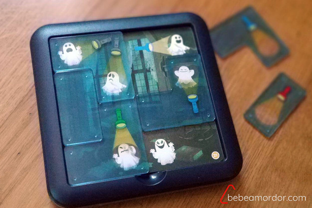 juego de mesa Cazafantasmas de SmartGames