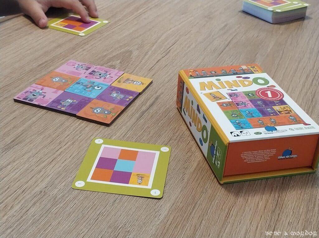 juego de mesa Mindo Robots carta 1 fácil