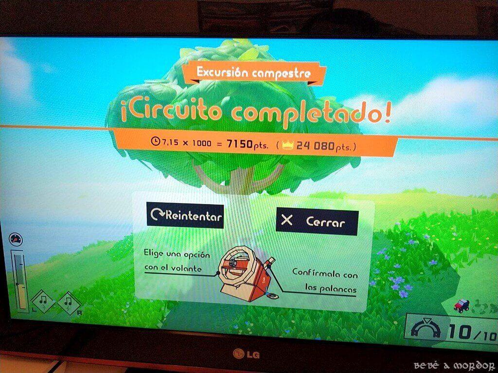 ¡Circuito completado! Rally dificultad Nintendo Switch Kit Vehículos