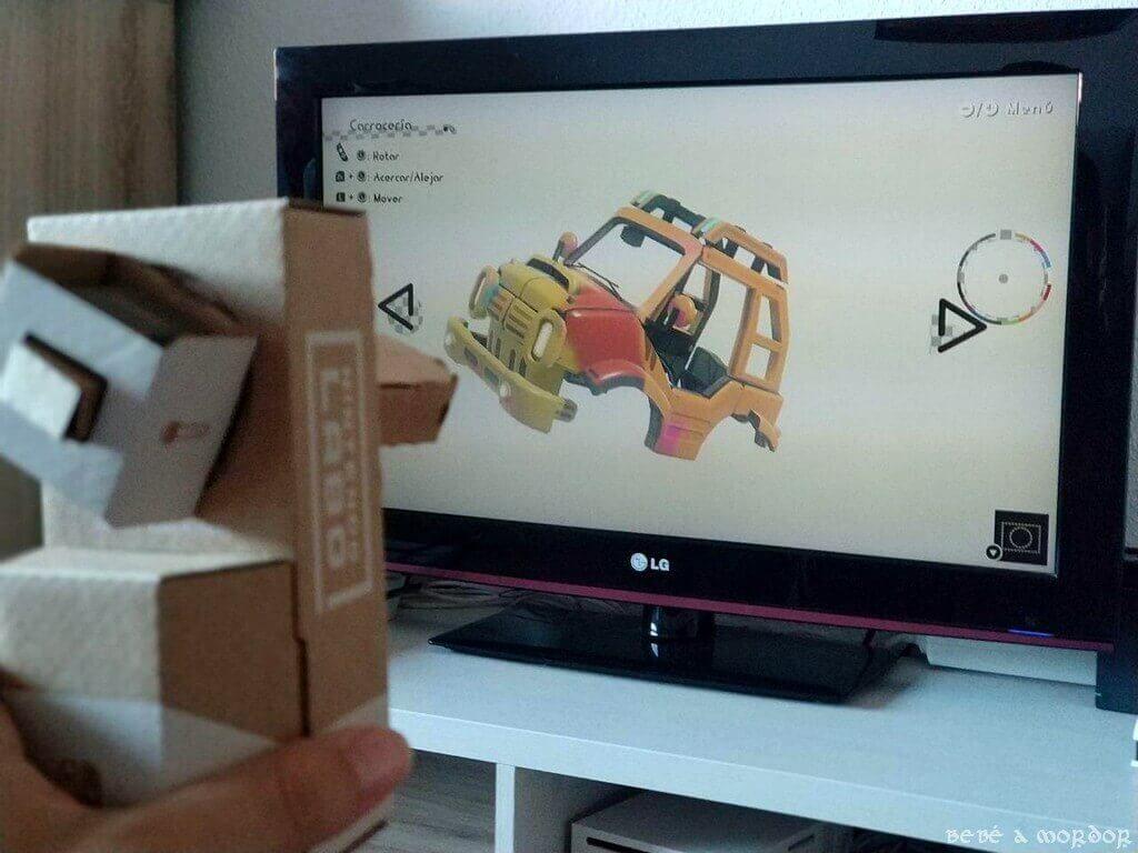Spray Chapa y Pintura Nintendo Labo vehículos