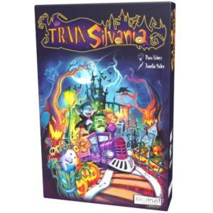 caja juego de mesa Halloween Trainsilvania