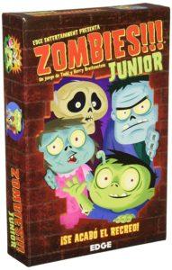 caja juego de mesa Zombies para niños