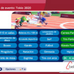 Pruebas en Mario & Sonic en los juegos olímpicos