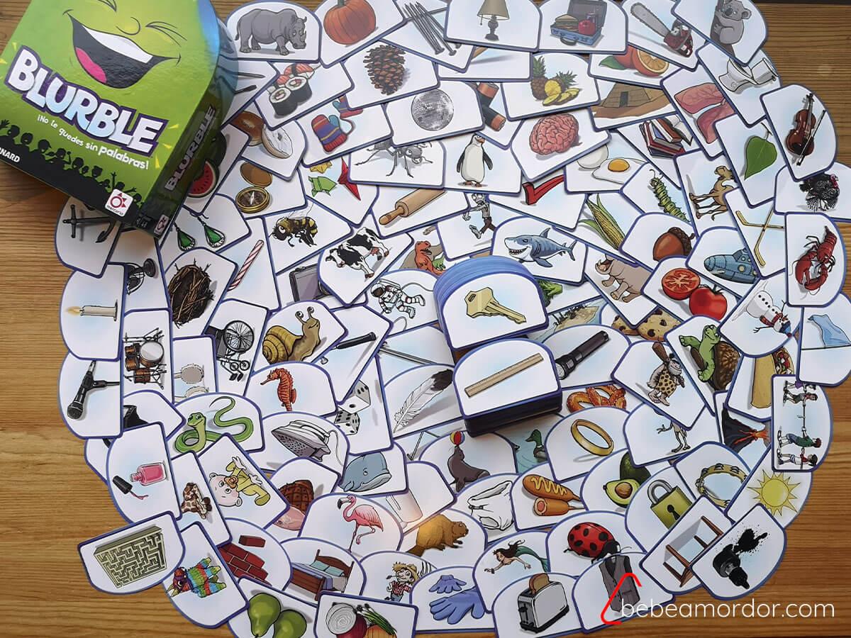 imágenes juego de mesa Blurble