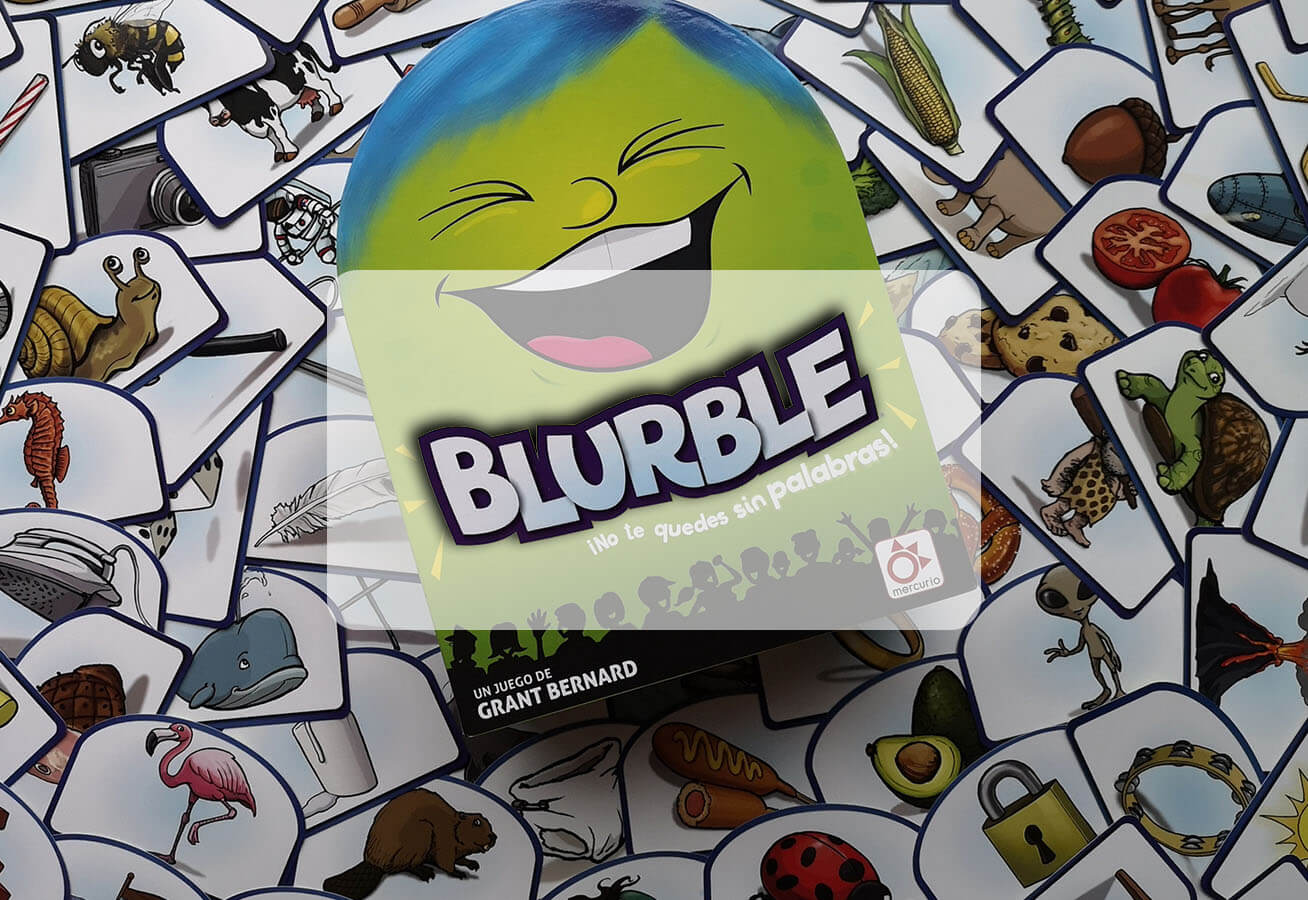 reseña cómo se juega a Burble juego de mesa