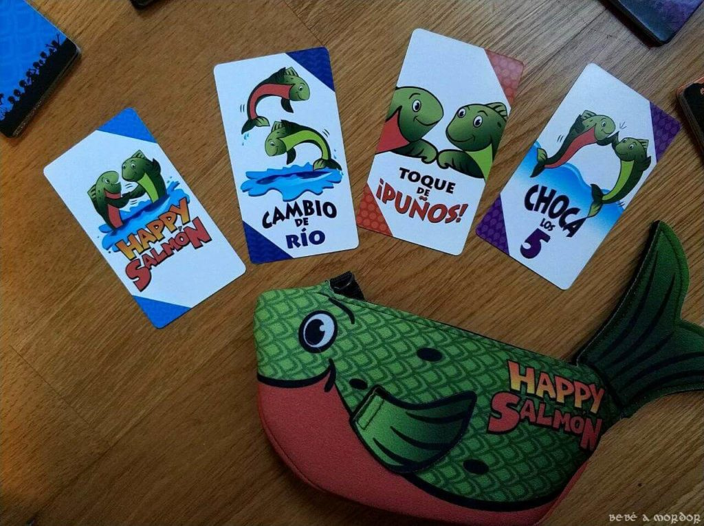 Cartas HAppy SAlmon
