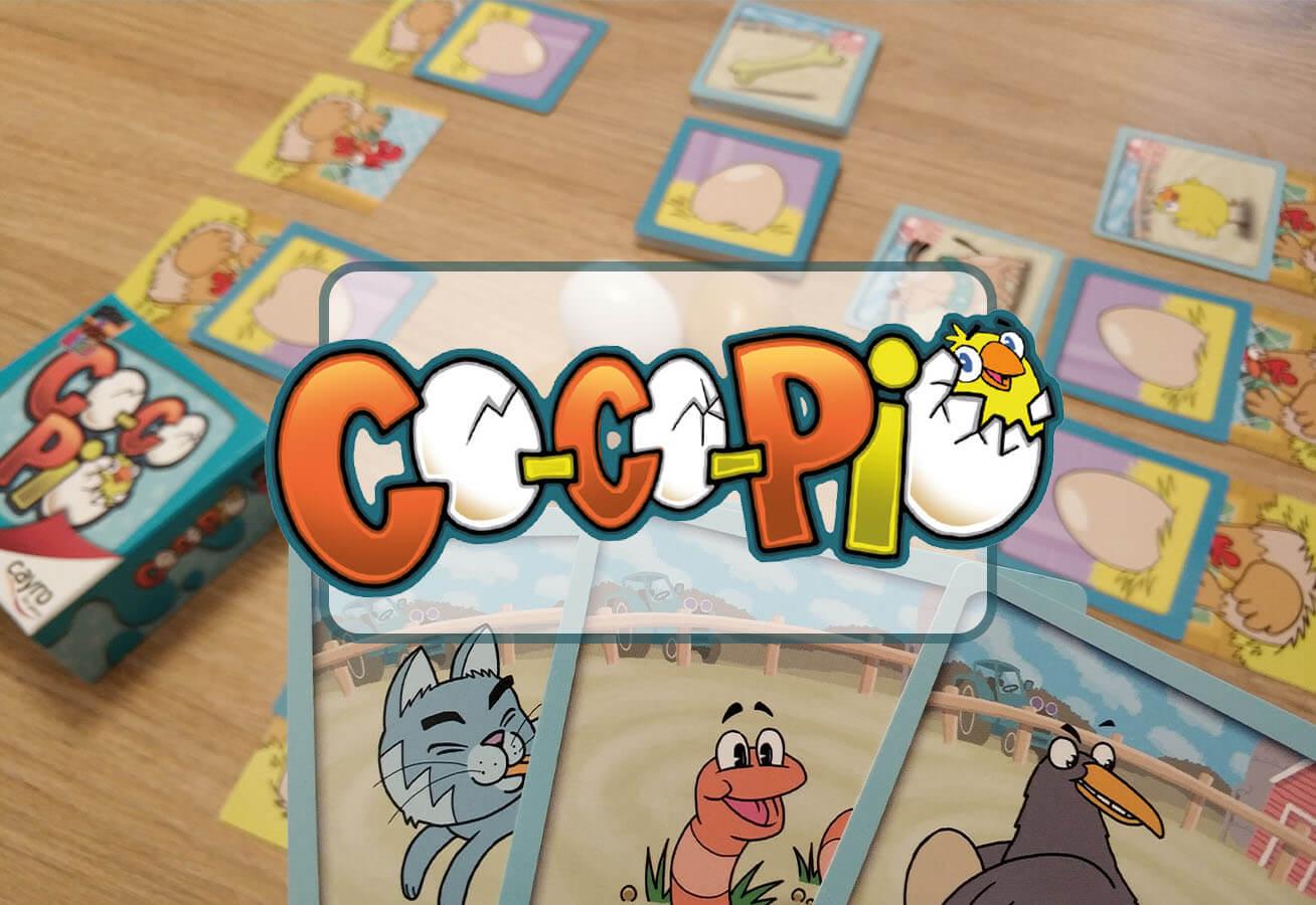 portada reseña cómo se juega juego de mesa Co-Co-Pio de Cayro
